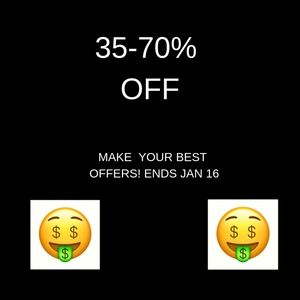 Other - SALE! 35-70% OFF